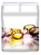 Colorful Gems Duvet Cover