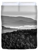 Early Morning On Blue Ridge Parkway Duvet Cover
