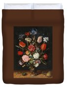 Flower Vase Duvet Cover
