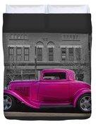 Ford Hot Rod Duvet Cover