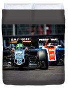 Formula 1 Monaco Grand Prix 2016 Duvet Cover