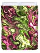 Fractal Modern Art Seamless Generated Texture Duvet Cover