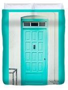 Front Door Duvet Cover by Tom Gowanlock