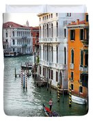 Gondola, Canals Of Venice, Italy Duvet Cover