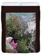 Grand Canyon Du Verdon Duvet Cover
