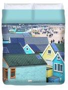 Hengistbury Head - England Duvet Cover