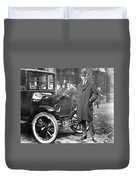 Henry Ford, 1863-1947 Duvet Cover