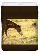 Horse In The Countryside  Duvet Cover