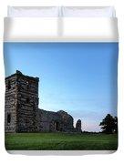 Knowlton Church - England Duvet Cover