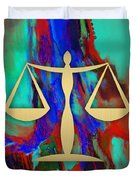 Law Office Collection Duvet Cover