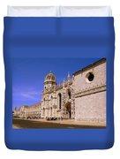 Lisbon Portugal Duvet Cover