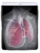 Lungs Duvet Cover