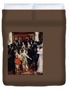 Masked Ball At The Opera Duvet Cover