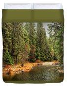Merced River Yosemite Valley Duvet Cover