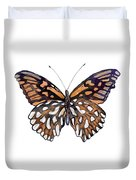 9 Mexican Silver Spot Butterfly Duvet Cover