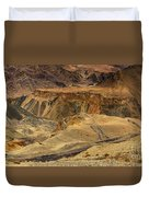 Moonland Ladakh Jammu And Kashmir India Duvet Cover