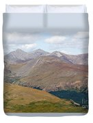 Mount Bierstadt In The Arapahoe National Forest Duvet Cover