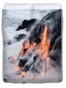 Pahoehoe Lava Flow Duvet Cover