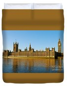 Palace Of Westminster, Houses Of Parliament, And Big Ben Duvet Cover
