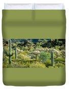 Saguaro Cactus Carnegiea Gigantea Duvet Cover