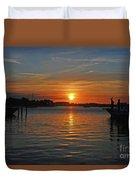 9- Sailfish Marina Duvet Cover