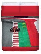 Sebastian Vettel Ferrari  Duvet Cover