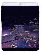 Star Wars 3 Poster Duvet Cover
