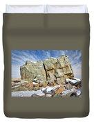 The Big Rock Duvet Cover