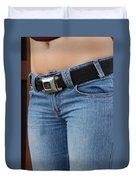 The G M Belt Duvet Cover