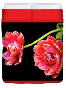 Tulip Floral Arrangement Duvet Cover