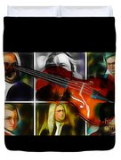 Violin Collection Duvet Cover