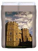 Windsor Castle England United Kingdom Uk Duvet Cover