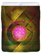 90s Neon Duvet Cover