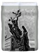 911 Memorial - Norristown Duvet Cover by Bill Cannon