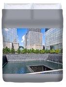 911 Memorial - Panorama Duvet Cover