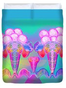 917 - Icecream Summerfruit A  Duvet Cover