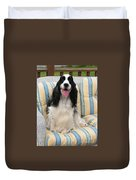 #940 D1075 Farmer Browns Happy For You Duvet Cover