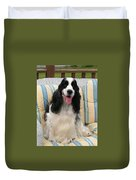 #940 D1076 Farmer Browns Happy For You Duvet Cover