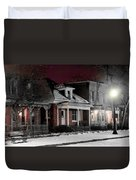 9th St. Auraria Duvet Cover