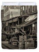 9th Street Italian Market - Philadelphia Pennsylvania Duvet Cover