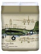 A-20 Havoc - Irene Duvet Cover