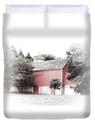 A Barn In The City Duvet Cover
