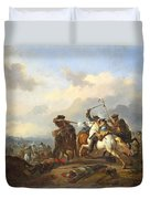 A Battle Duvet Cover