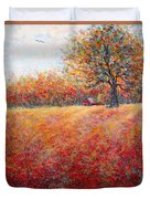 A Beautiful Autumn Day Duvet Cover