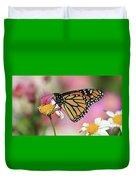 A Beautiful Monarch Duvet Cover
