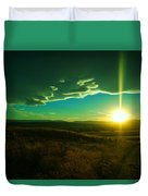 A Beautiful Sunset Duvet Cover