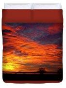 A Beautiful Valentines Sunrise Image Photo Duvet Cover