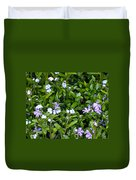 A Bed Of Blooms Duvet Cover