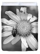 A Beetle And A Daisy  Duvet Cover