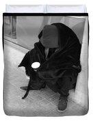 A Beggar In Jerusalem Duvet Cover